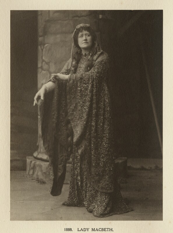 Ellen Terry as Lady Macbeth in 'Macbeth', by Window & Grove, 1888, published 1906 - NPG Ax131311 - © National Portrait Gallery, London