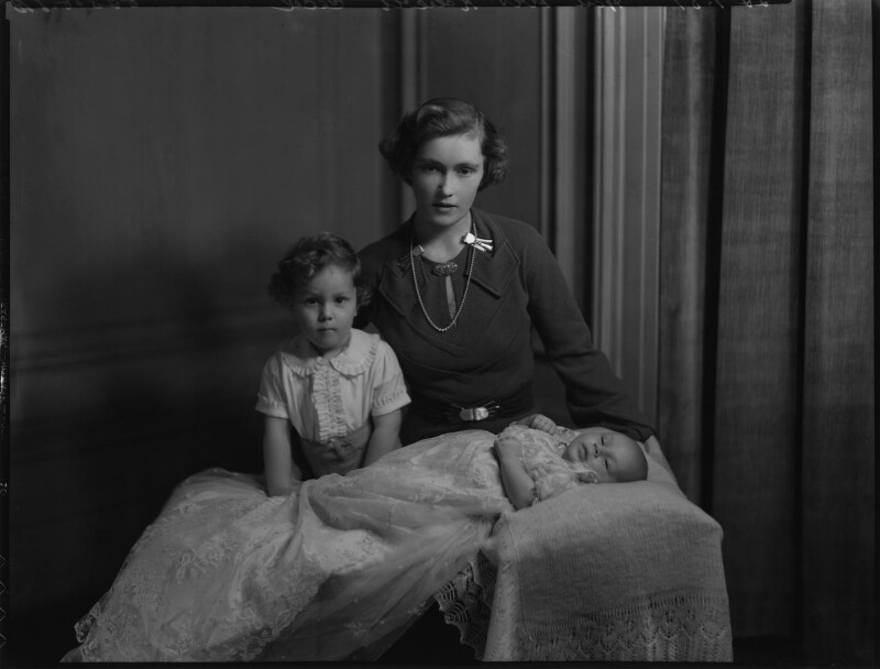 Baron Rockley and family, by Bassano Ltd, 22 January 1937 - NPG x152533 - © National Portrait Gallery, London