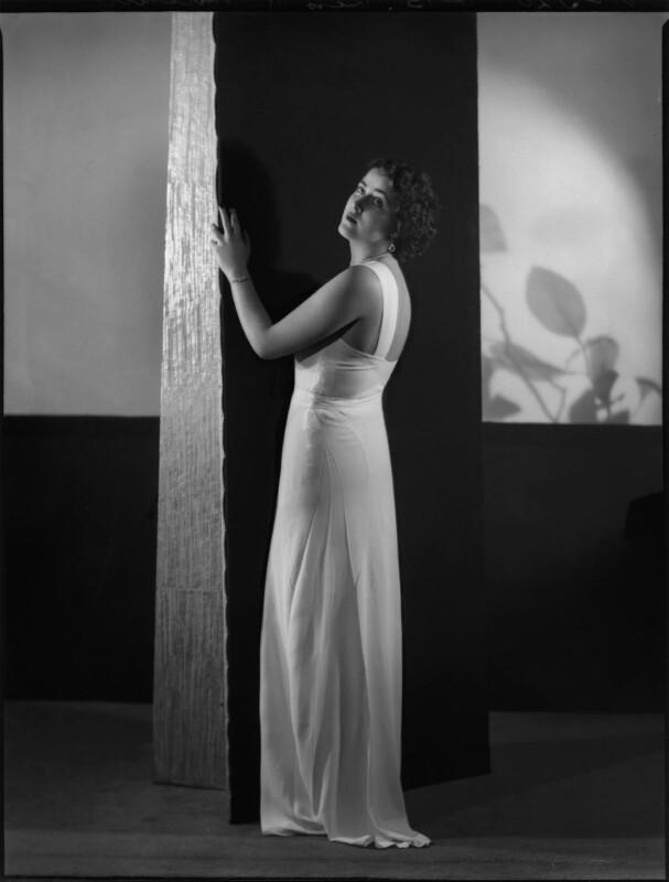 H. Mitchell (Fashion portrait), by Bassano Ltd, 22 January 1937 - NPG x152539 - © National Portrait Gallery, London