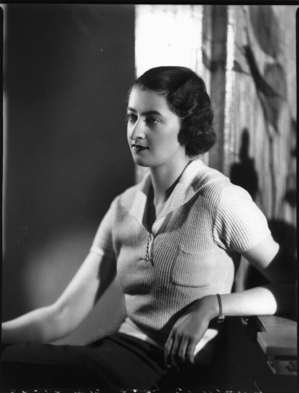 Lady (Mary) Elizabeth Oldfield (née Murray), by Bassano Ltd, 28 January 1937 - NPG x152547 - © National Portrait Gallery, London