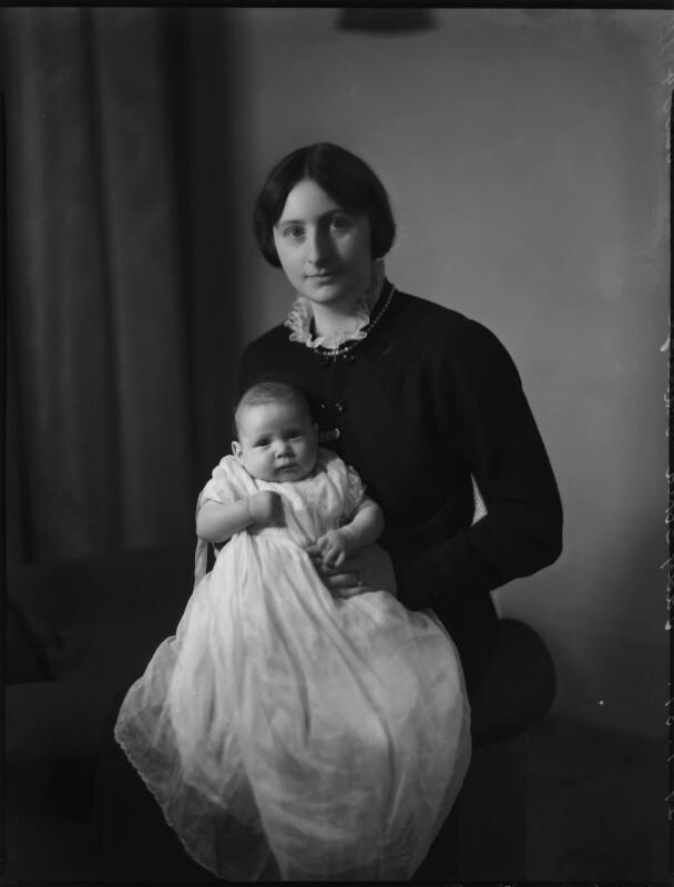 Gabrielle Hedley (née Schilizzi); Lady (Gabrielle) Sophia Annette Schilizzi (née Waldegrave), by Bassano Ltd, 29 January 1937 - NPG x152548 - © National Portrait Gallery, London