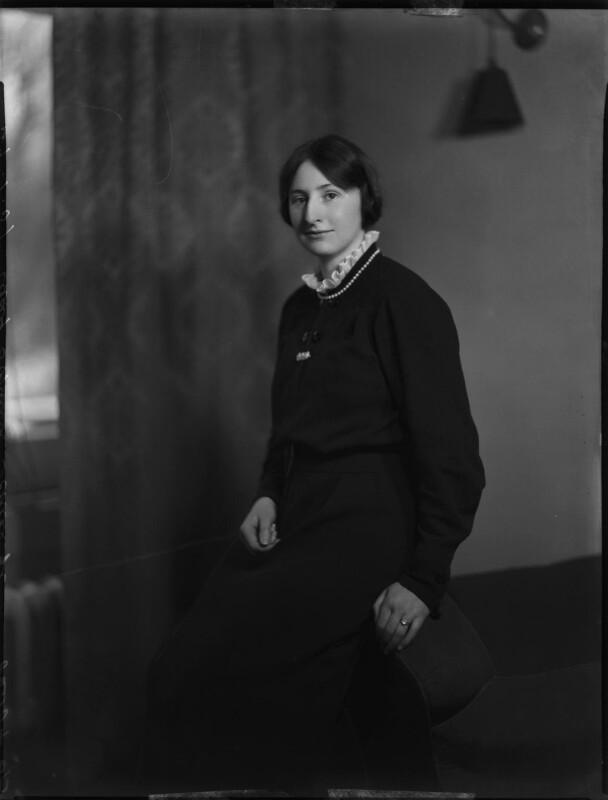 Lady (Gabrielle) Sophia Annette Schilizzi (née Waldegrave), by Bassano Ltd, 29 January 1937 - NPG x152552 - © National Portrait Gallery, London