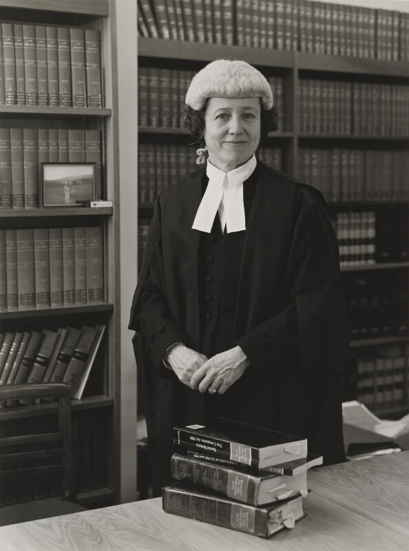 Dame Mary Howarth (née Arden), by Julia Hedgecoe, 18 November 1997 - NPG P751(11) - © Julia Hedgecoe / National Portrait Gallery, London