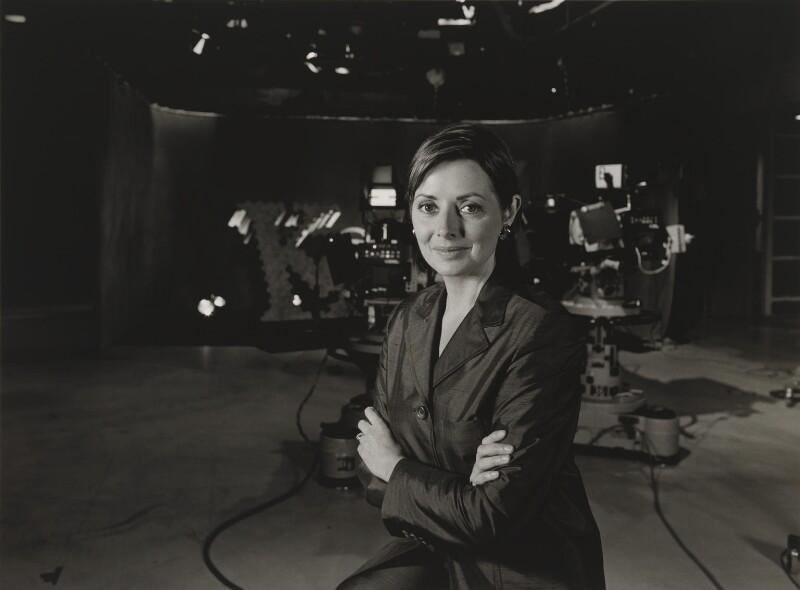 Carol Vorderman, by Julia Hedgecoe, 10 June 1998 - NPG P751(19) - © Julia Hedgecoe / National Portrait Gallery, London