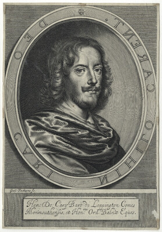 Henry Carey, 2nd Earl of Monmouth, by William Faithorne, published 1656 - NPG D29090 - © National Portrait Gallery, London