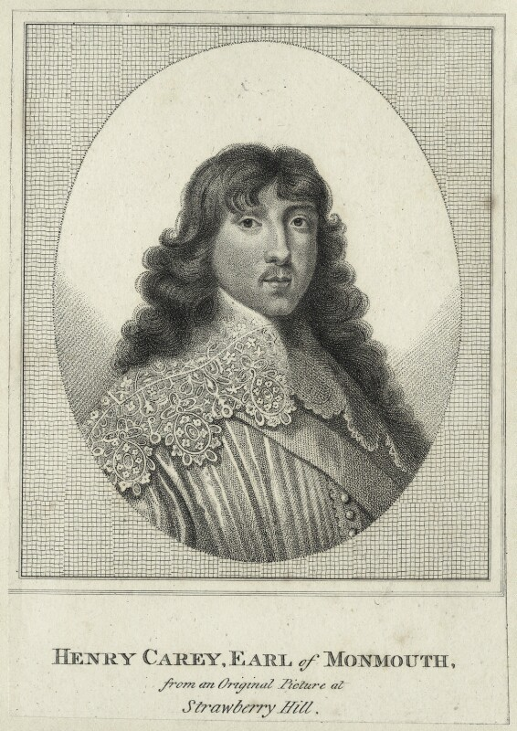 Henry Carey, 2nd Earl of Monmouth, after Unknown artist, late 18th to early 19th century - NPG D29091 - © National Portrait Gallery, London