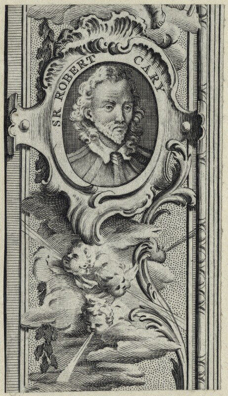 Robert Carey, 1st Earl of Monmouth, after Unknown artist, mid 17th century - NPG D29092 - © National Portrait Gallery, London