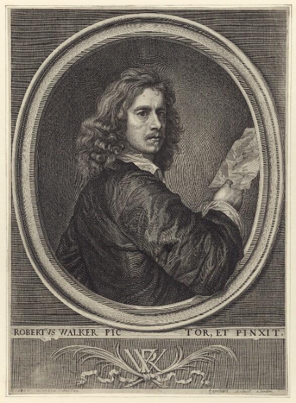 Robert Walker, by Pierre Lombart, mid 17th century - NPG D29145 - © National Portrait Gallery, London