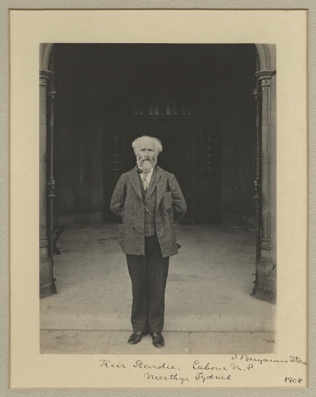Keir Hardie, by Benjamin Stone, 1908 - NPG x20358 - © National Portrait Gallery, London