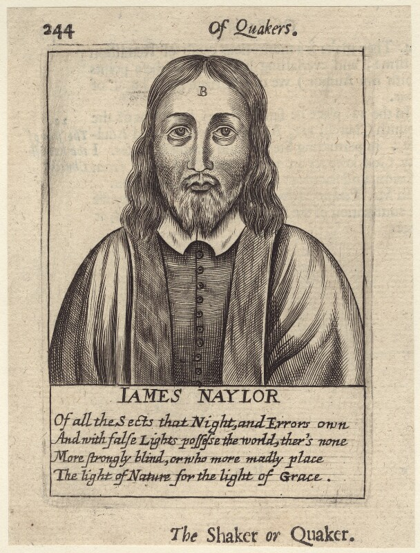 James Nayler, after Unknown artist, published 1654 - NPG D29207 - © National Portrait Gallery, London