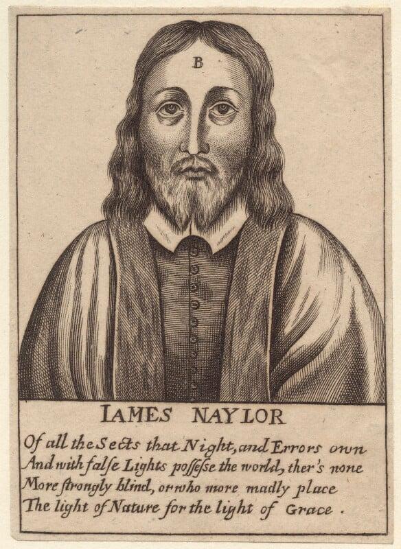 James Nayler, after Unknown artist, published 1654 - NPG D29208 - © National Portrait Gallery, London
