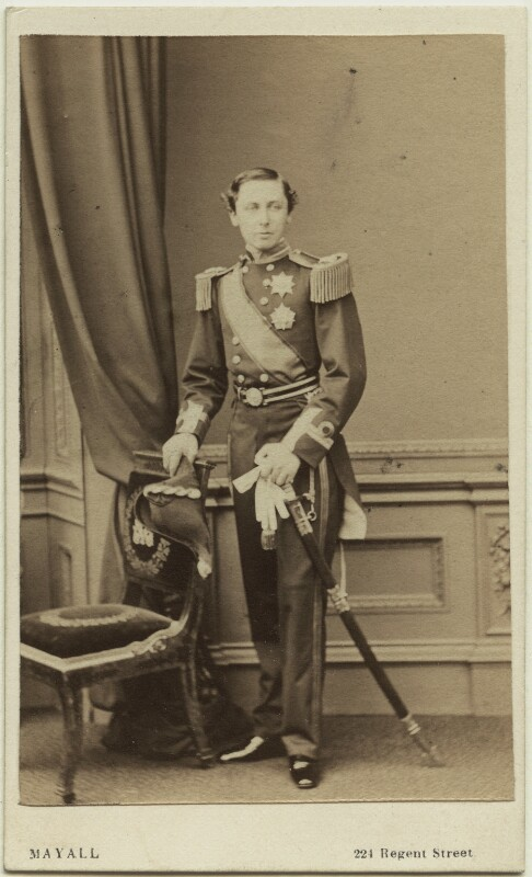 Prince Alfred, Duke of Edinburgh and Saxe-Coburg and Gotha, by John Jabez Edwin Mayall, April 1863 - NPG Ax131364 - © National Portrait Gallery, London