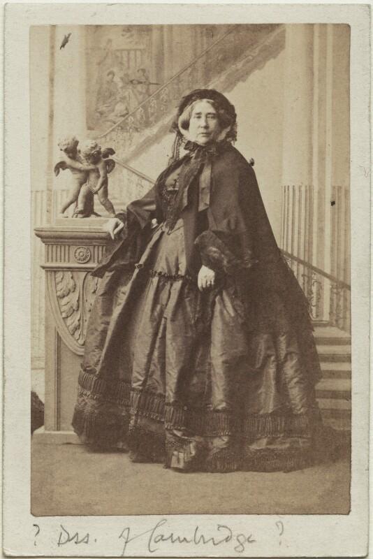 Princess Augusta Wilhelmina Louisa, Duchess of Cambridge, by Camille Silvy, 9 October 1860 - NPG Ax131391 - © National Portrait Gallery, London