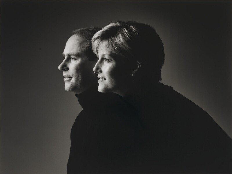 Prince Edward; Sophie, Countess of Wessex, by John Swannell, 1999 - NPG P746 - © John Swannell / Camera Press