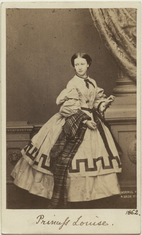Princess Helena Augusta Victoria of Schleswig-Holstein, by John Jabez Edwin Mayall, February 1861 - NPG Ax131381 - © National Portrait Gallery, London