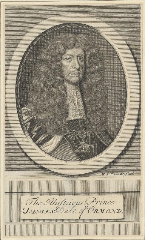 James Butler, 1st Duke of Ormonde, by Michael Vandergucht, 1713 - NPG D29355 - © National Portrait Gallery, London