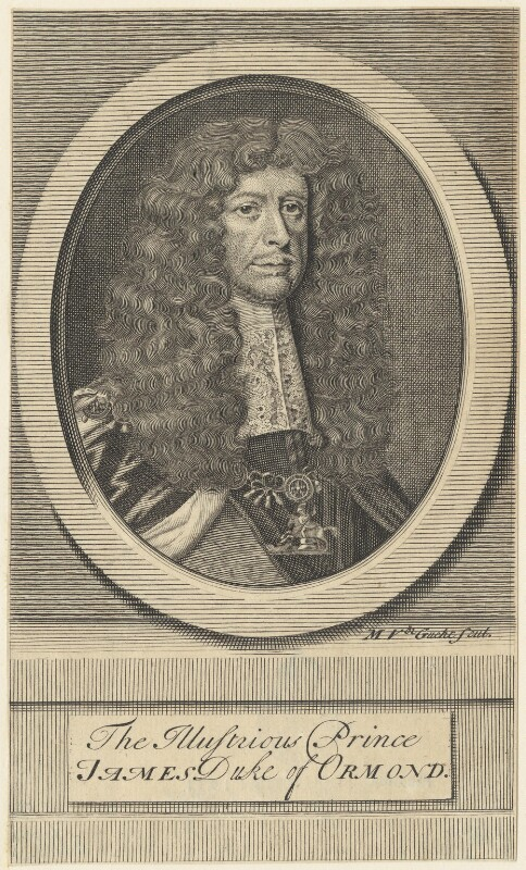James Butler, 1st Duke of Ormonde, by Michael Vandergucht, 1713 - NPG D29357 - © National Portrait Gallery, London