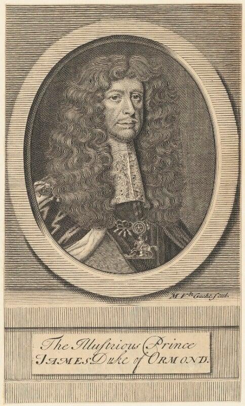 James Butler, 1st Duke of Ormonde, by Michael Vandergucht, 1713 - NPG D29357 - © National Portrait Gallery, London