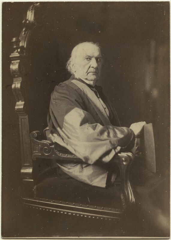 William Ewart Gladstone, by Rupert Potter, 28 July 1884 - NPG x5885 - © National Portrait Gallery, London