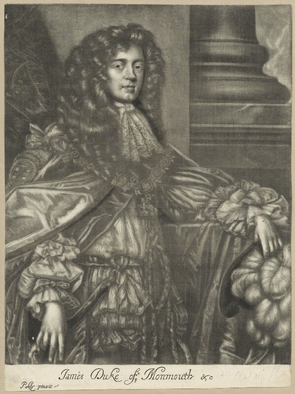 James Scott, Duke of Monmouth and Buccleuch, after Sir Peter Lely, circa 1680 - NPG D29393 - © National Portrait Gallery, London