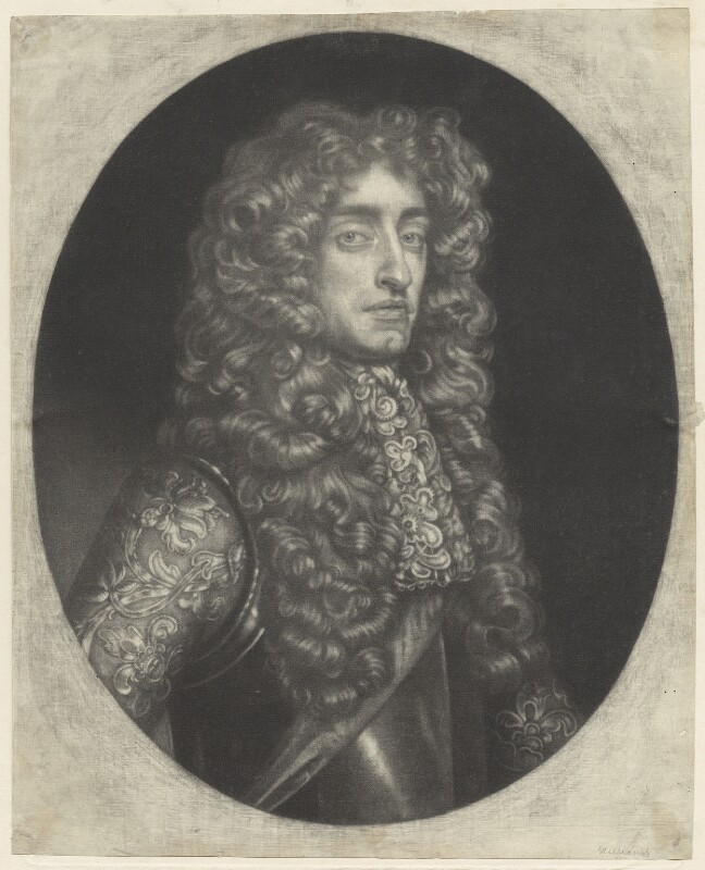 King James II, by Robert Williams, after  Samuel Cooper, published by  Edward Cooper, late 17th century - NPG D29401 - © National Portrait Gallery, London