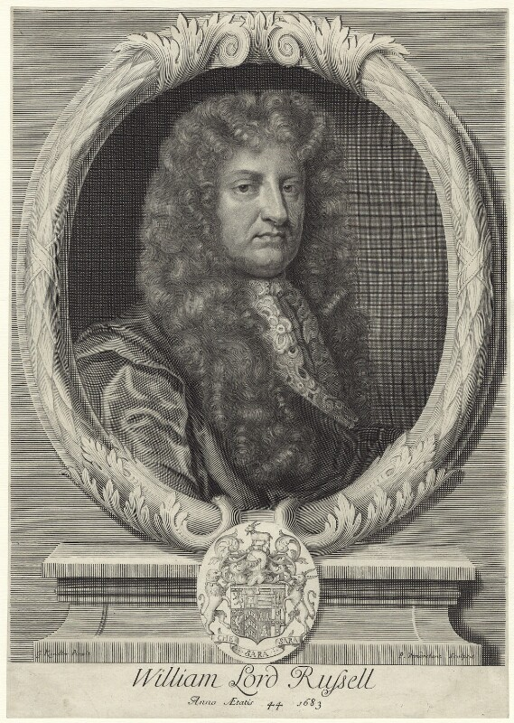 William Russell, Lord Russell, by Peter Vanderbank (Vandrebanc), after  Sir Godfrey Kneller, Bt, 1683 - NPG D29410 - © National Portrait Gallery, London