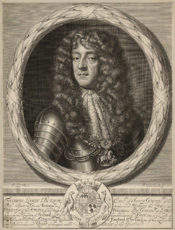 Thomas Butler, Earl of Ossory, by Peter Vanderbank (Vandrebanc), after  Sir Peter Lely, late 17th century - NPG D29450 - © National Portrait Gallery, London