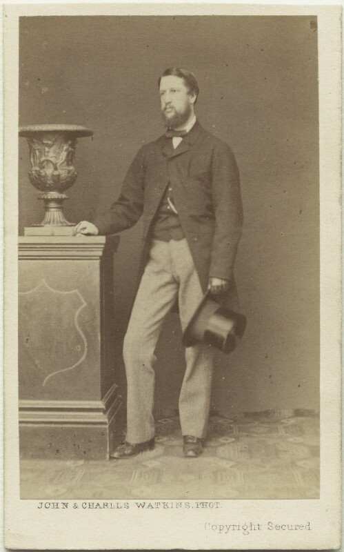 Spencer Compton Cavendish, 8th Duke of Devonshire, by John & Charles Watkins, 1860s - NPG x8031 - © National Portrait Gallery, London