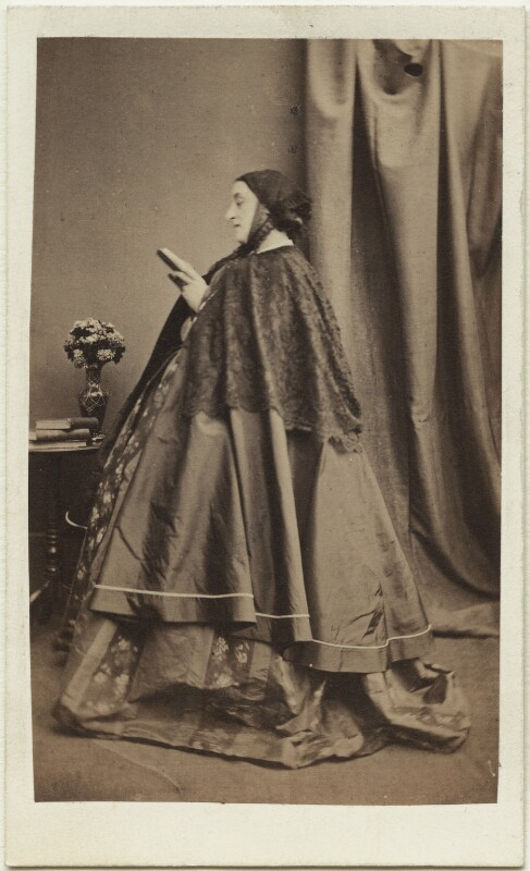 Adelaide Kemble, by J.G. & E.G. Short (John Golden & Elizabeth Golden Short), 1860s - NPG x22360 - © National Portrait Gallery, London