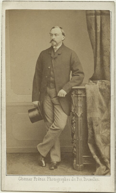 Ernest II, Duke of Saxe-Coburg and Gotha, by Ghémar Frères, 1860s - NPG x28065 - © National Portrait Gallery, London