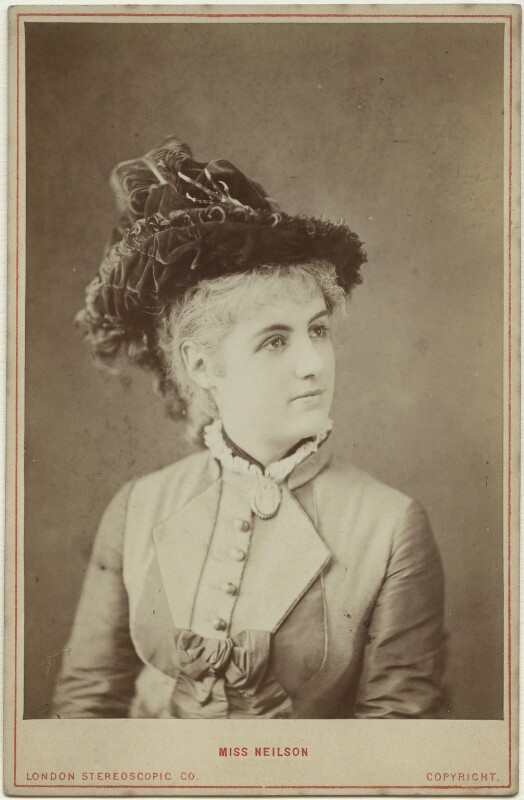 Adelaide Neilson, by London Stereoscopic & Photographic Company, 1876 - NPG x14711 - © National Portrait Gallery, London