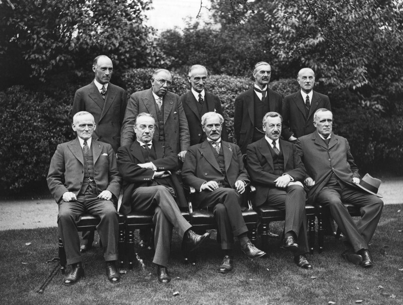 National Cabinet Group, by James Jarché, for  Daily Herald, 31 August 1931 - NPG x88323 - © Mirrorpix