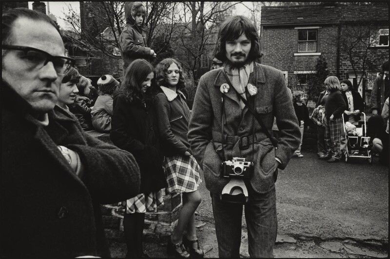 Martin Parr, by Geoff Howard, 1974 - NPG x131397 - © Geoff Howard / National Portrait Gallery, London