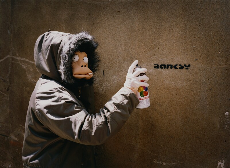 Banksy, by James Pfaff, 2003 - NPG x131404 - © James Pfaff