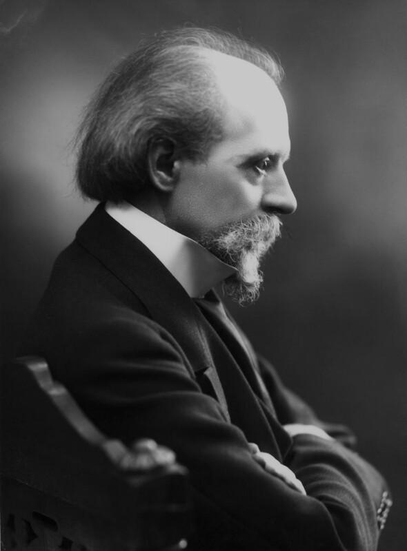 Sir (Thomas Henry) Hall Caine, by Bassano Ltd, 1911 - NPG x16756 - © National Portrait Gallery, London