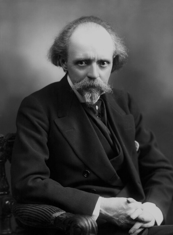 Sir (Thomas Henry) Hall Caine, by Bassano Ltd, 1911 - NPG x16758 - © National Portrait Gallery, London
