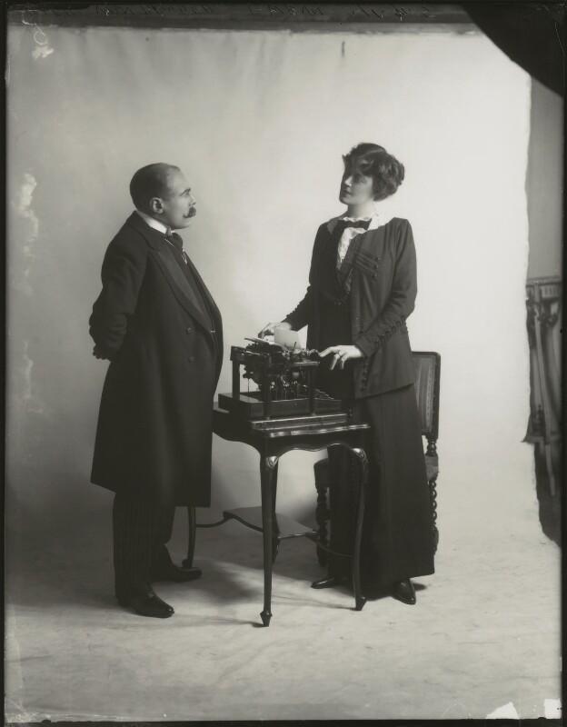 Edmund Gwenn; Irene Vanbrugh, by Bassano Ltd, 1911 - NPG x152713 - © National Portrait Gallery, London