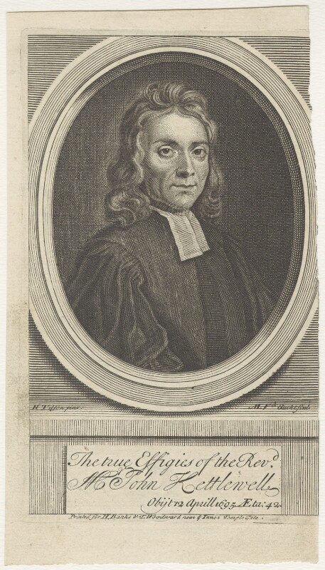 John Kettlewell, by Michael Vandergucht, after  Henry Tilson, published 1718 - NPG D29631 - © National Portrait Gallery, London