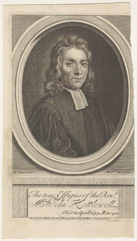 John Kettlewell, by Michael Vandergucht, after  Henry Tilson, published 1718 - NPG D29631 - © National Portrait Gallery, London