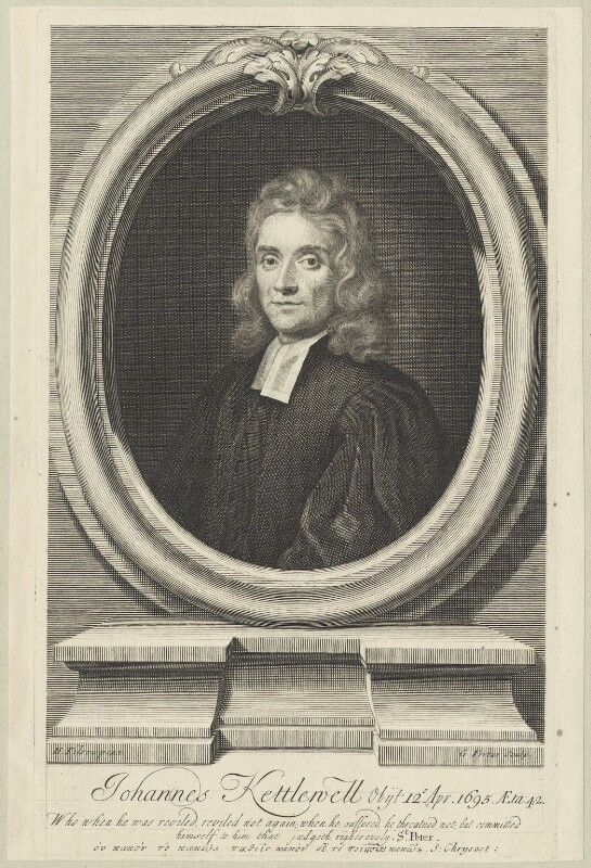 John Kettlewell, by George Vertue, after  Henry Tilson, published 1719 - NPG D29634 - © National Portrait Gallery, London