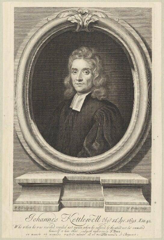 John Kettlewell, by George Vertue, after  Henry Tilson, published 1719 - NPG D29634 - © National Portrait Gallery, London