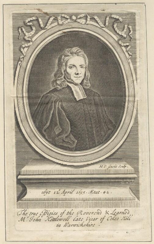 John Kettlewell, by Michael Vandergucht, after  Henry Tilson, early 18th century - NPG D29636 - © National Portrait Gallery, London