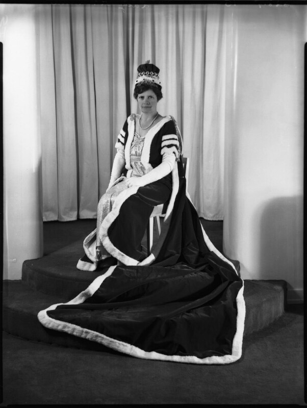 Margaret Haig Mackworth (née Thomas), 2nd Viscountess Rhondda, by Bassano Ltd, 6 May 1937 - NPG x152771 - © National Portrait Gallery, London