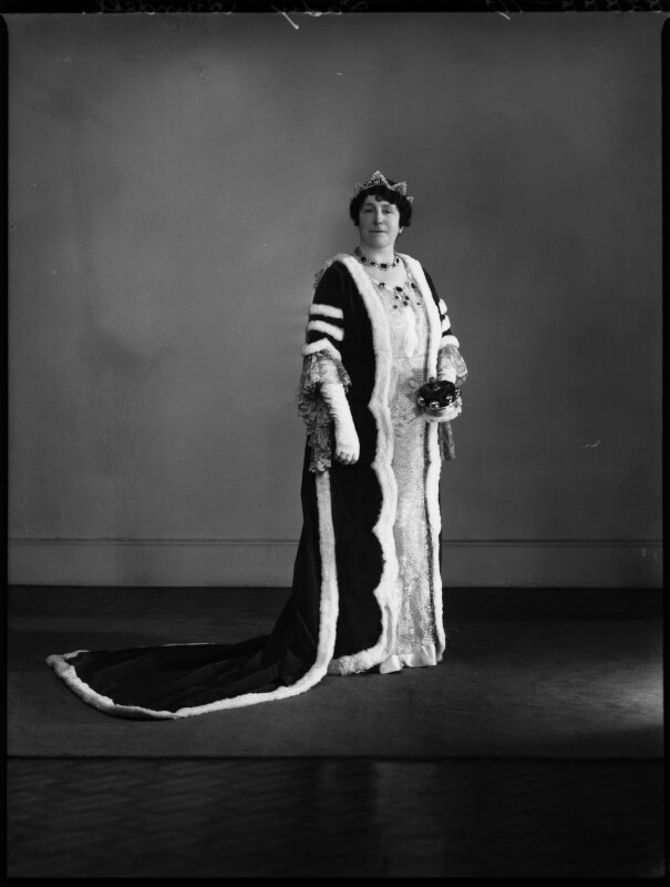 Ivy Florence Mary (née Segrave), Lady Arundell of Wardour, by Bassano Ltd, 13 May 1937 - NPG x152895 - © National Portrait Gallery, London