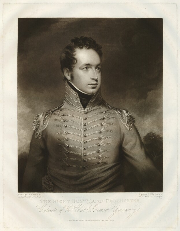 Henry George Herbert, 2nd Earl of Carnarvon, by William Say, after  Sir William Beechey, published 1811 - NPG D32689 - © National Portrait Gallery, London