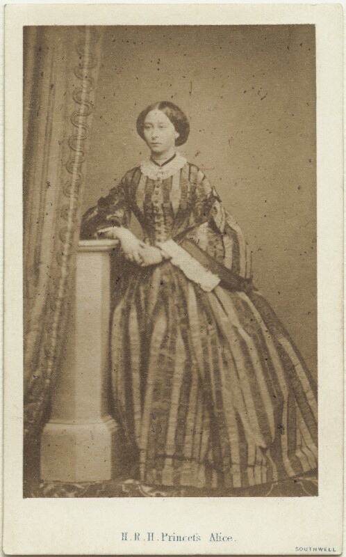 Princess Alice, Grand Duchess of Hesse, by William Henry Southwell, published by  Thomas McLean & Co, 1860 - NPG Ax131376 - © National Portrait Gallery, London