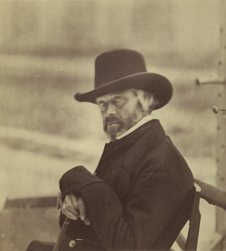 Thomas Carlyle, possibly by Charles Thurston Thompson, circa 1859 - NPG x1344 - © National Portrait Gallery, London