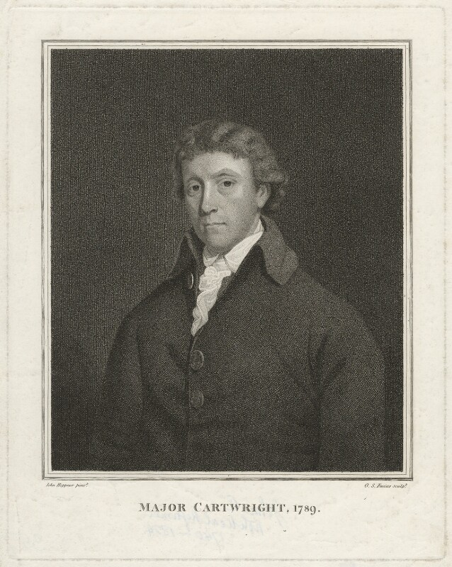John Cartwright, by Georg Siegmund Facius, after  John Hoppner, 1789 - NPG D32719 - © National Portrait Gallery, London