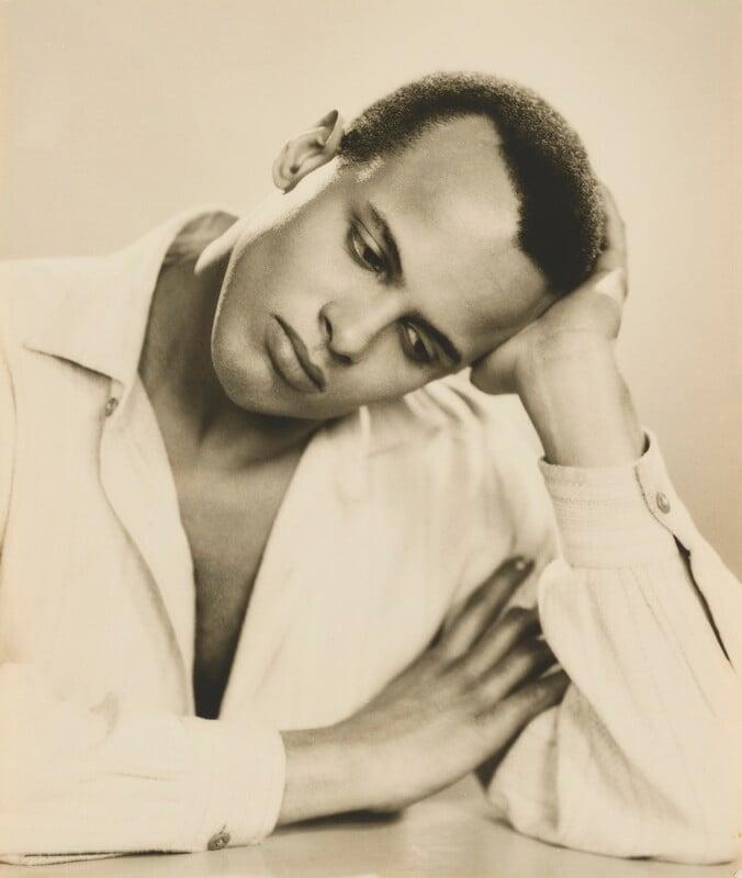 Harry Belafonte, by Dorothy Wilding, 25 February 1954 - NPG x4386 - © National Portrait Gallery, London