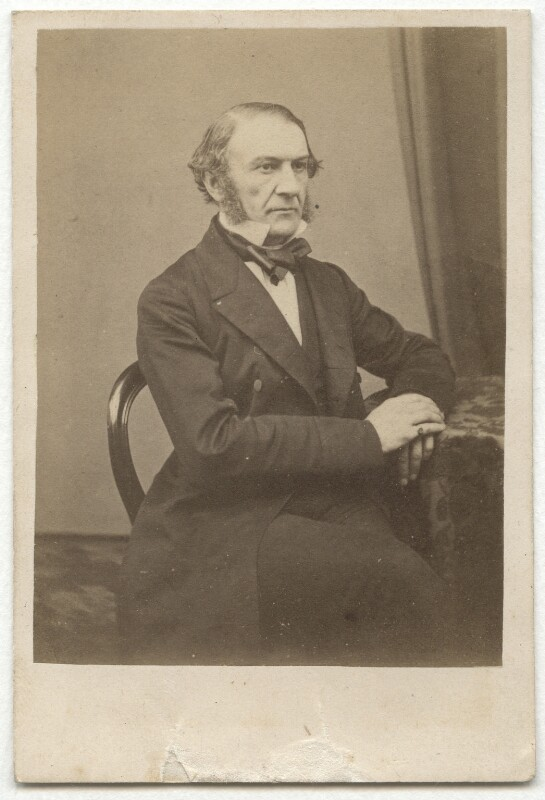 William Ewart Gladstone, by Unknown photographer, early 1860s - NPG x5973 - © National Portrait Gallery, London